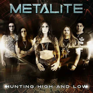 "Το single των Metalite ""Hunting High And Low"""