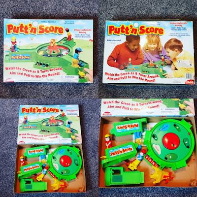 Putt'n Score minigolf game by Hilco Corporation, 2001
