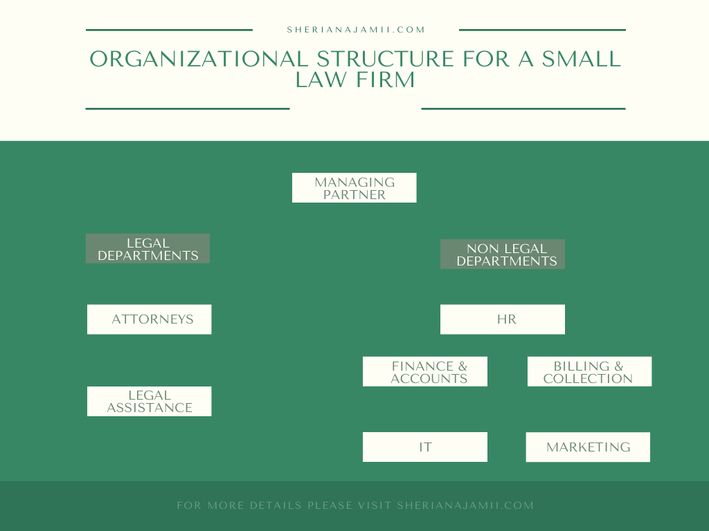 organisational structure for small law firm