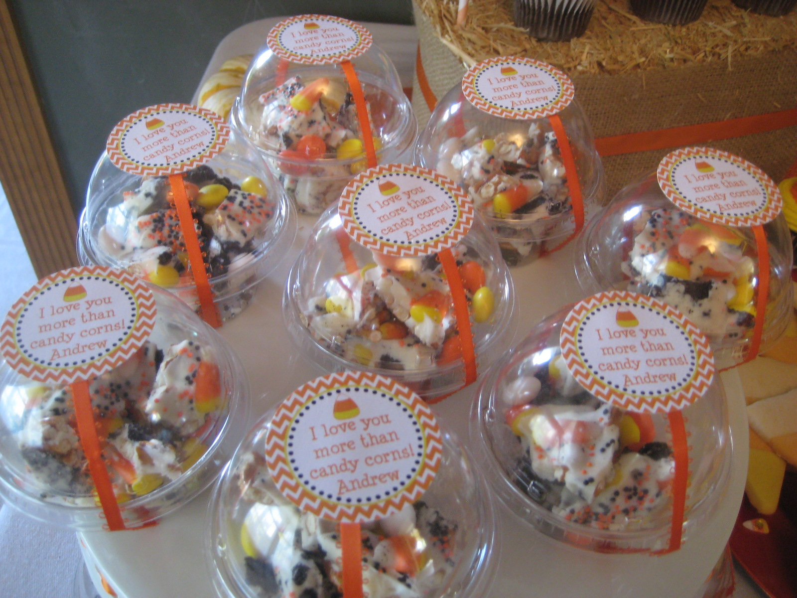 & Candy Corn Birthday Party - The Cards We Drew