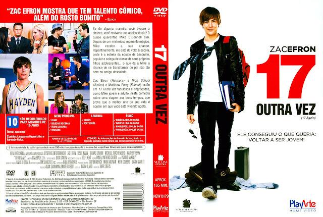 Capa DVD 17 OUTRA VEZ