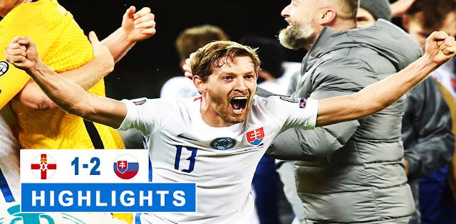 Northern Ireland vs Slovakia – Highlights