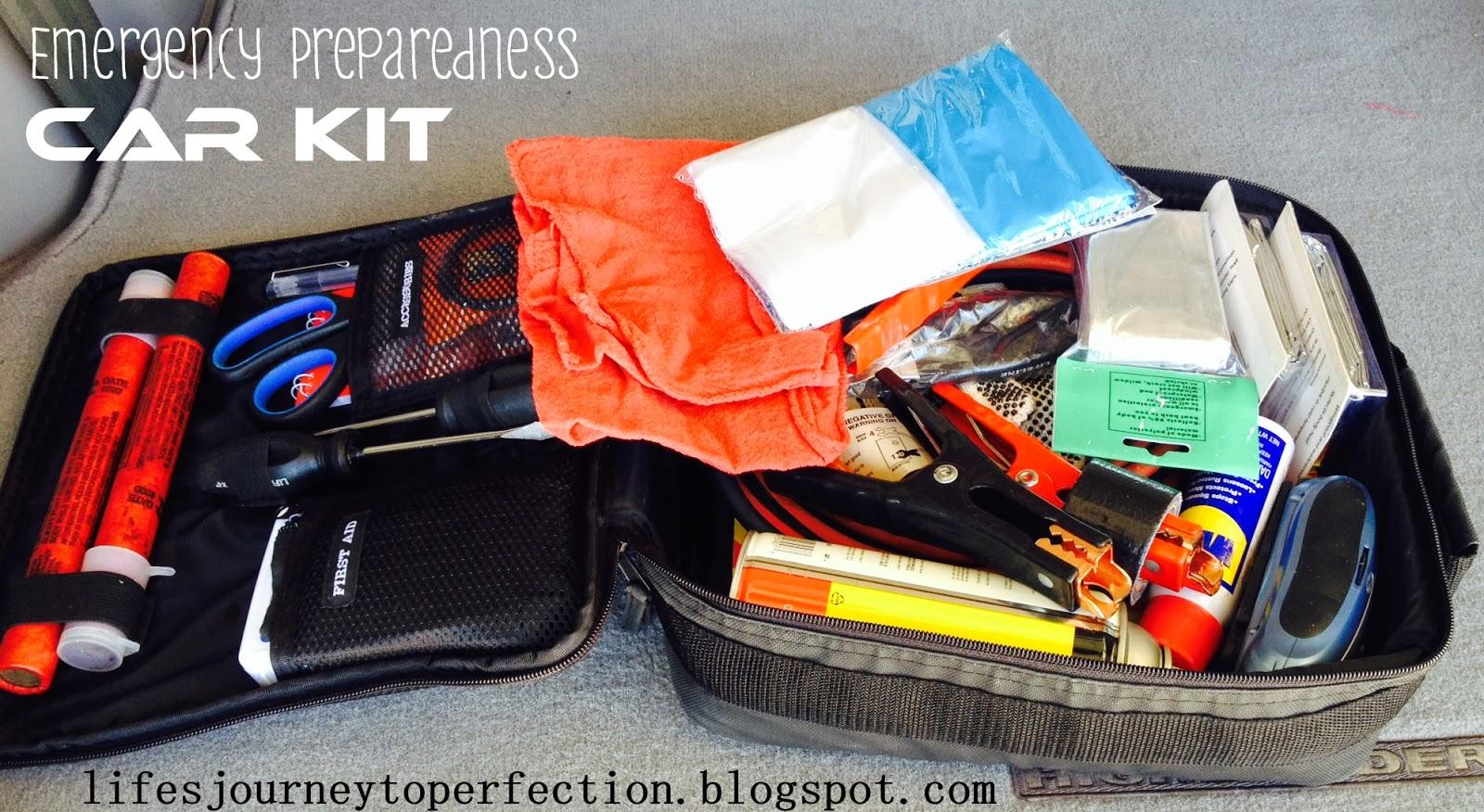 Life S Journey To Perfection Emergency Preparedness Super