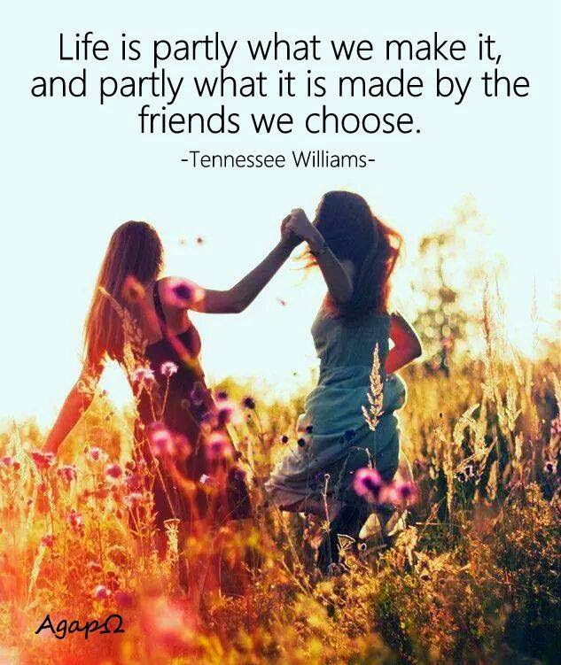 Life Is Partly What We Make It And Partly What It Is Made By The