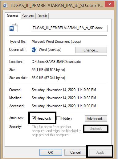 cara buka file rusak