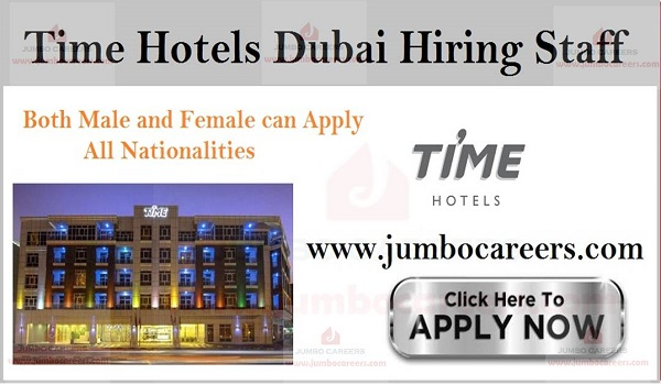Latest hotel job openings in Dubai, All new jobs in Dubai,