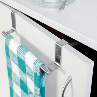JVS Brushed Steel Towel Holder -Online Trade DD