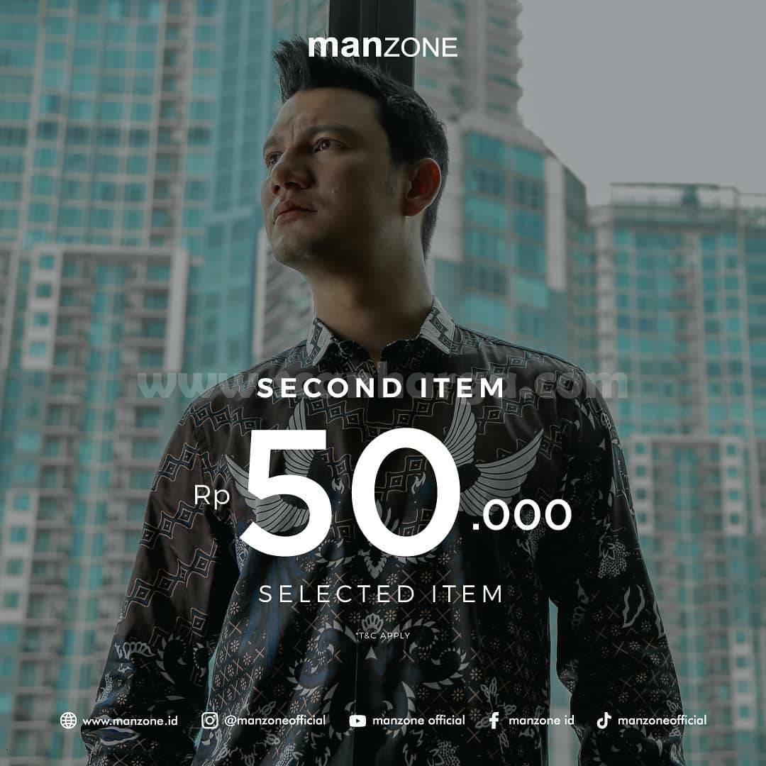 Promo Manzone Second Item Rp 50.000 Selected Item