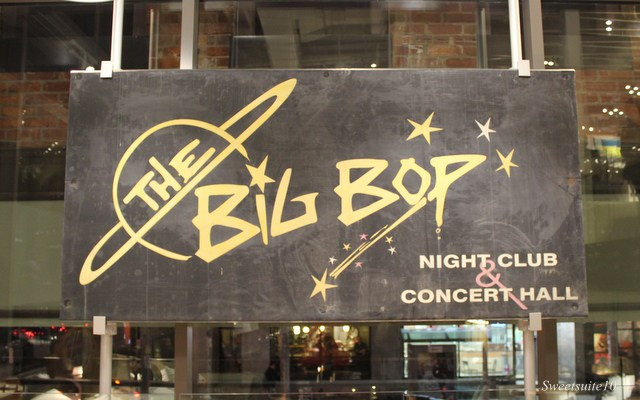 Old Big Bop sign