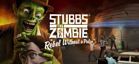 Stubbs the Zombie in Rebel Without a Pulse-GOG