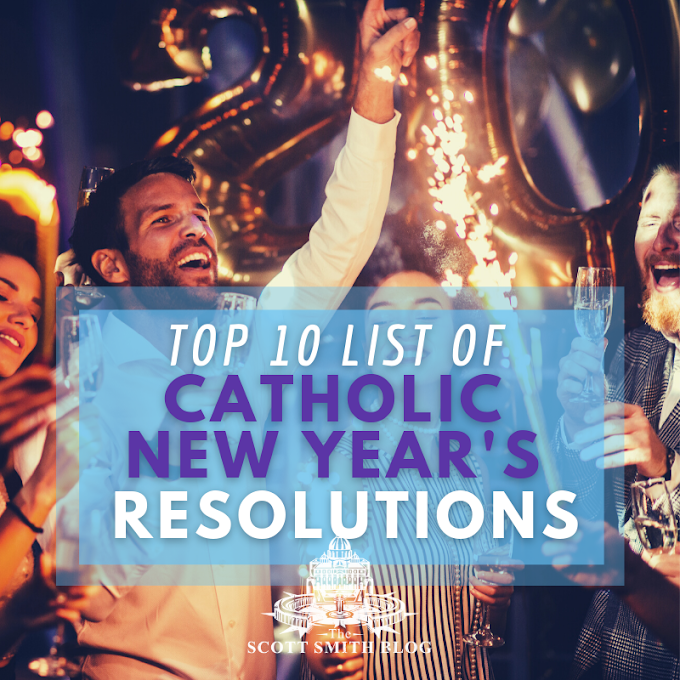TOP 10 Catholic Christian New Year's Resolutions Plus Infographic: What Sort of New Year's Resolution Should a Christian Make?