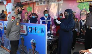 Tim Supervisi Mabes Polri Pantau SOP Penyekatan Dan Larangan Mudik Di Jatim