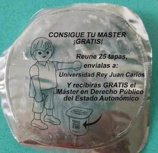 Máster, Universidad Rey Juan Carlos, reúne 25 tapas