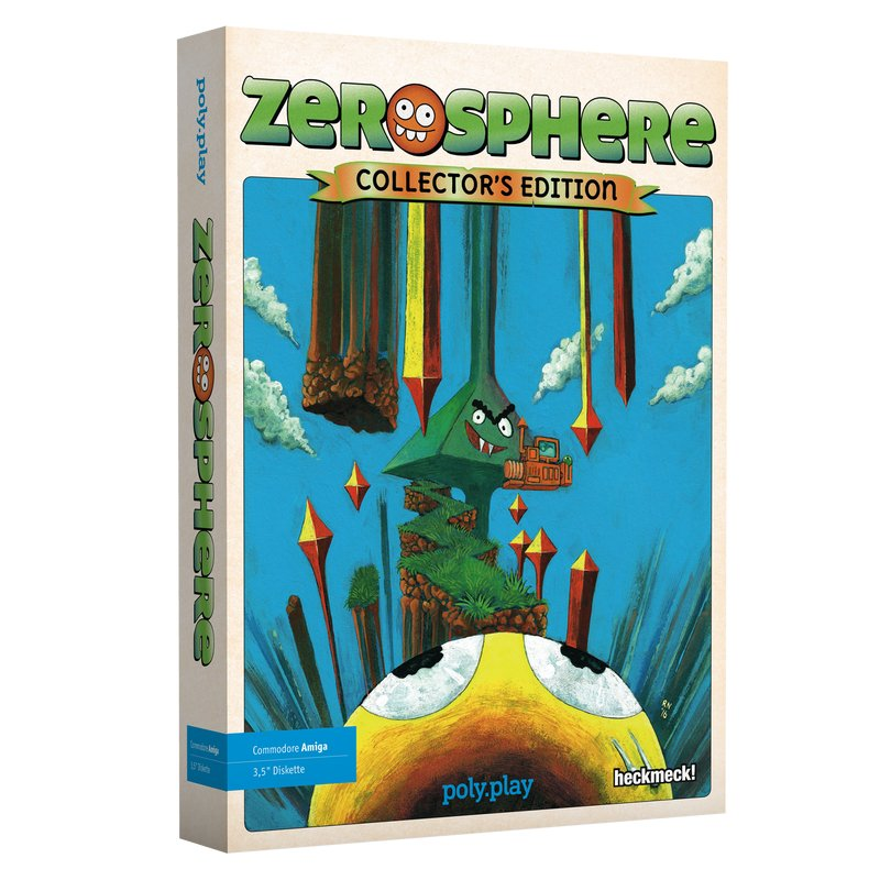 Indie Retro News: Zerosphere Collectors Edition - A very