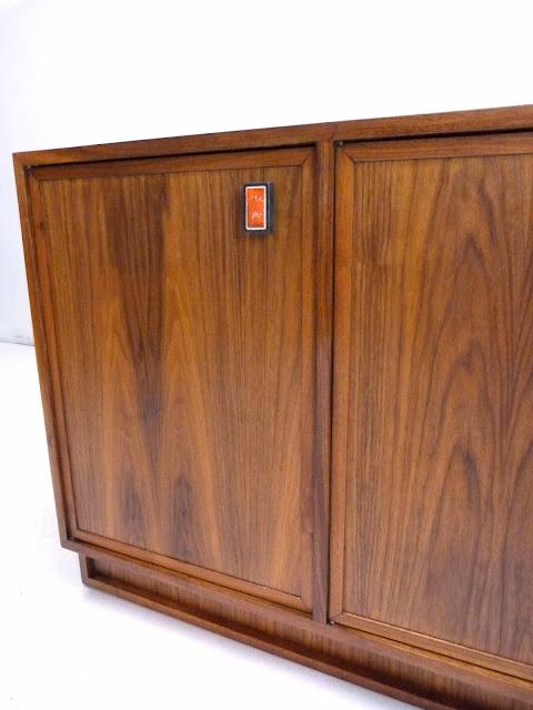 Modernist Mid Century Walnut Sideboard Frank Kyle 5