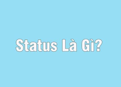 các khái niệm về status facebook