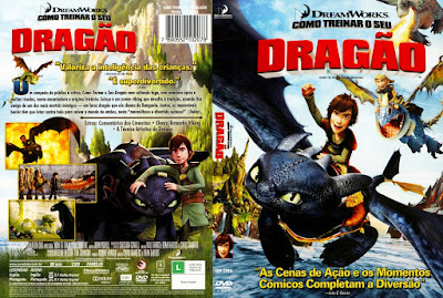 Filme Como Treinar seu Dragão (How to Train Your Dragon) DVD Capa