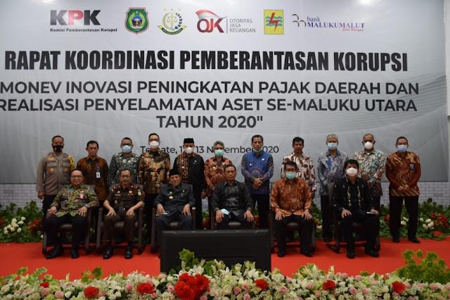 Ansar Daaly Hadiri Rakor Pemberantasan Korupsi di Maluku Utara Bersama KPK.lelemuku.com.jpg