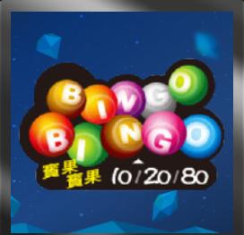 台灣彩券賓果‧Bingo Bingo遊戲規則