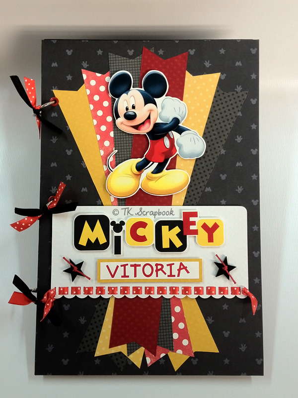 album scrapbook mickey disney