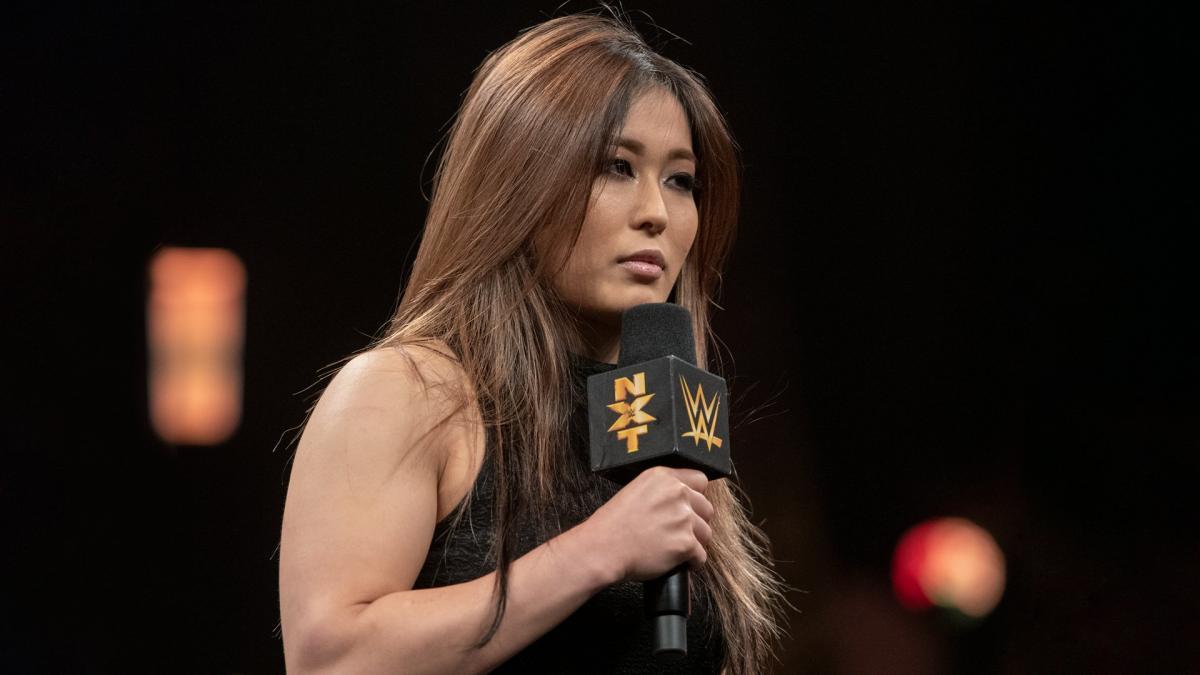 Io Shirai retorna ao WWE NXT