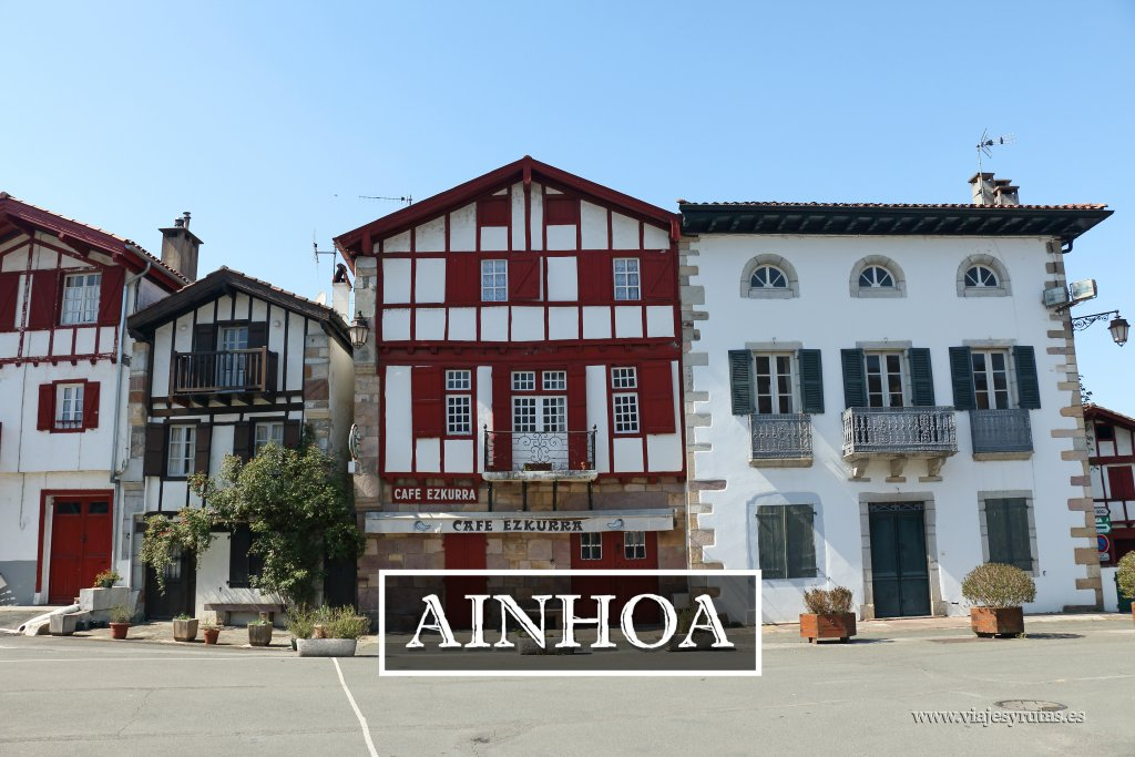 Ainhoa uno de los pueblos más bonitos de Francia
