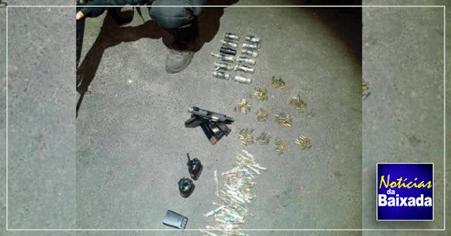 Criminoso morre em confronto com a polícia na Baixada