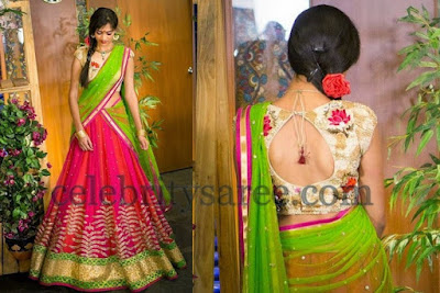 latest-lehenga-saree-indian-blouse-designs-2016-17-for-women-2