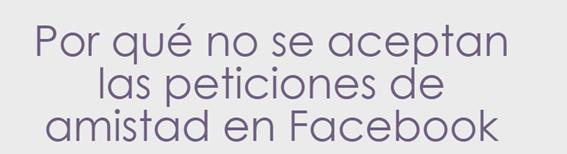 Redes Sociales, Social Media, peticiones, amistad, Facebook,