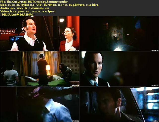 Descargar The Conjuring 2 Subtitulado por MEGA.