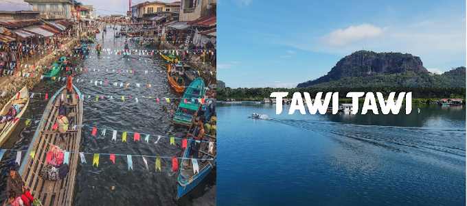 Visit the beautiful place of Sintangkai, Tawi- Tawi: Venice of the South