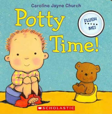 Potty training book for toddlers - Carol Church