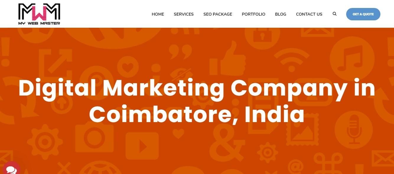 MyWebmaster - Digital Marketing Company