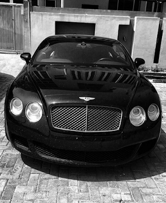 Iyanya Buys himself a new Bentley toy!