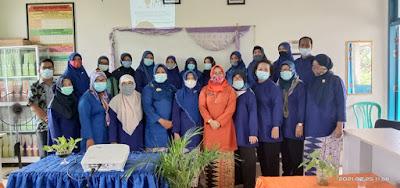 Elha Zudartila Sampaikan ITC Untuk PJJ Di SDN 162 Palembang.