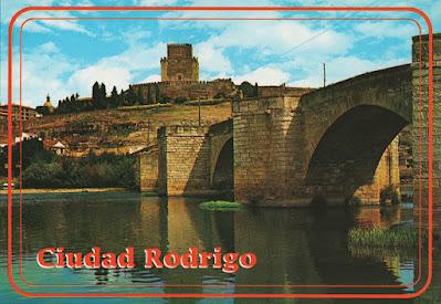 postal, Ciudad Rodrigo, Salamanca, puente romano