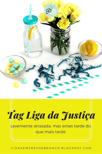 Book tag liga da justiça
