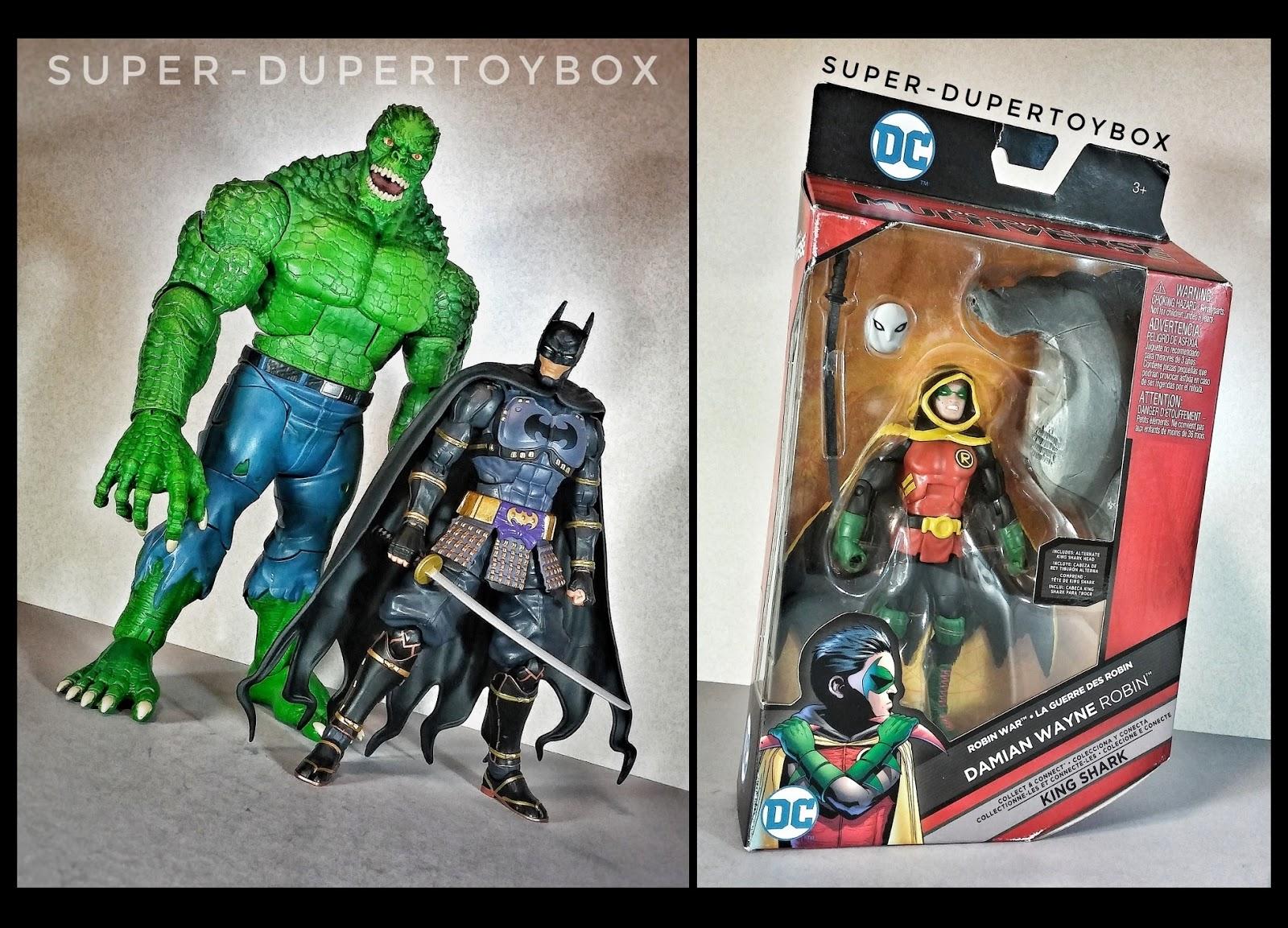 Super Dupertoybox Dc Multiverse Croc Batman Ninja Damian Wayne Robin