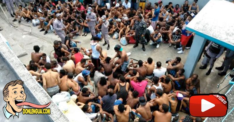 Decenas de presos aglomerados en un retén de San Carlos mueren lentamente con el virus