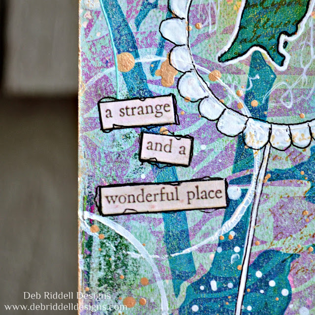 A Strange And Wonderful Place Tag Detail