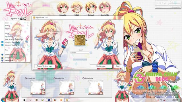 Hajimete no Gal Theme Win 7 by Enji Riz Lazuardi