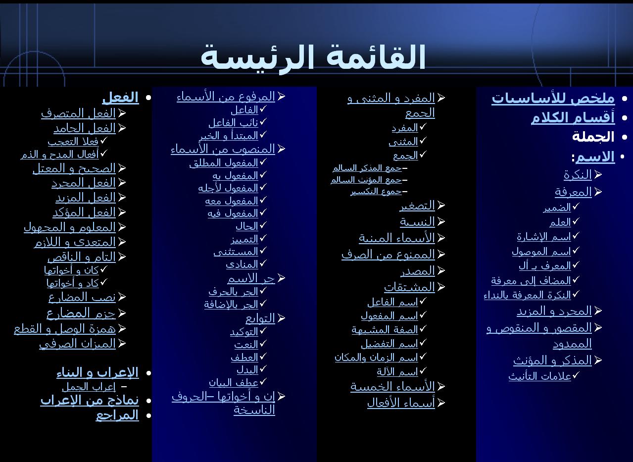مرجع رائع وشامل في قواعد اللغة العربية