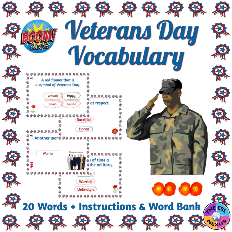 Use this resource to help teach about Veterans Day