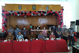 Oskar Manoppo Hadiri Launching e-SPTPD BPHTB Bank Sulutgo di Manado