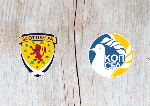 Scotland vs Cyprus - Highlights 8 June 2019