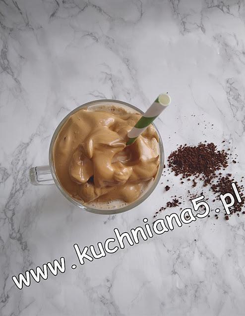 koreańska kawa dalgona-kawa mrożona-kawa mrozona