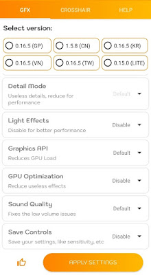 pubg lite gfx tool pro apk, تسريع لعبة ببجي موبايل, تطبيق GFX Tool Pro
