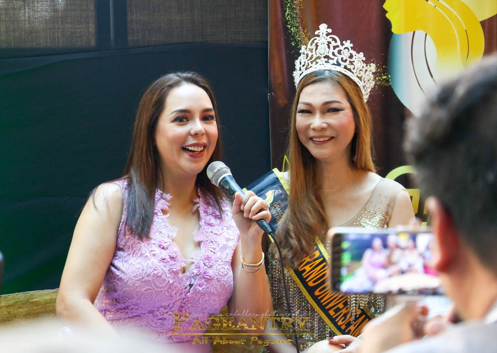 Alma Concepcion pageantry magazine: ms & mrs grand universe press launch