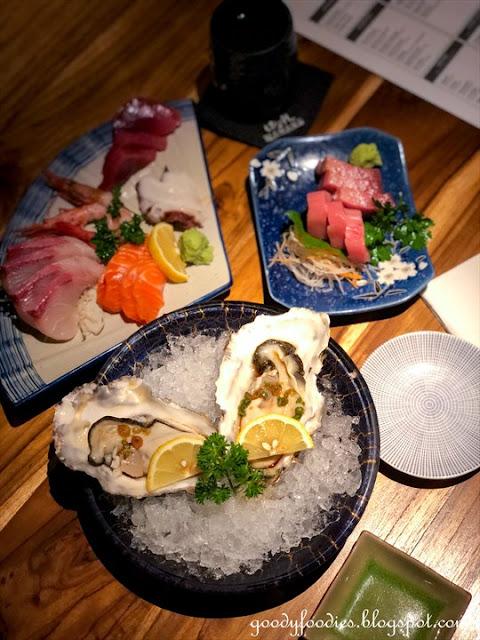 Hanare KL weekend japanese buffet hokkaido oyster