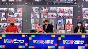 Presentación del del Comando de Campaña Darío Vivas del Gran Polo Patriótico Simón Bolívar, por parte del Jefe de Estado Venezolano